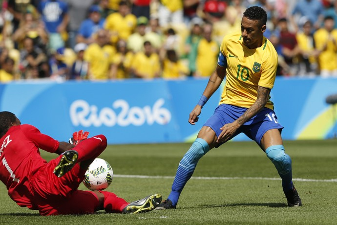 Neymar Brasil x Honduras (Foto: AP)