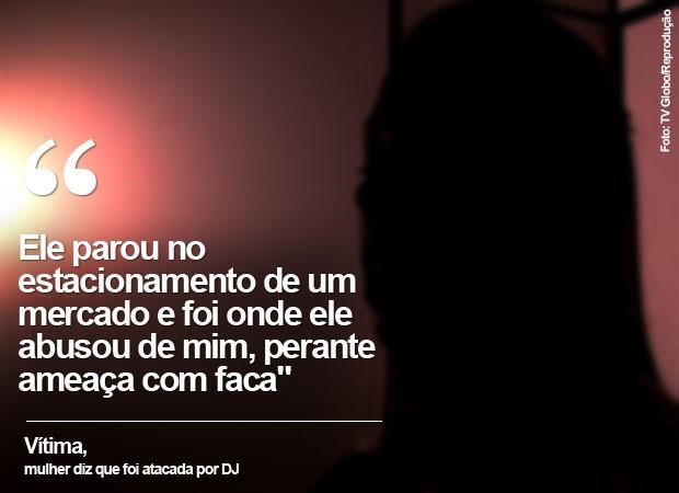 DJ conhecido como Marcelo Xolas foi preso pela polícia (Foto: TV Globo/Reprodução)