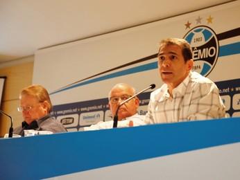 Luciano Dias grêmio coordenador da base (Foto: Rodrigo Fatturi/Divulgação Grêmio)