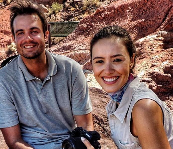 Amanda Richter e Max Fercondini viajam pela América do Sul (Foto: Arquivo pessoal)