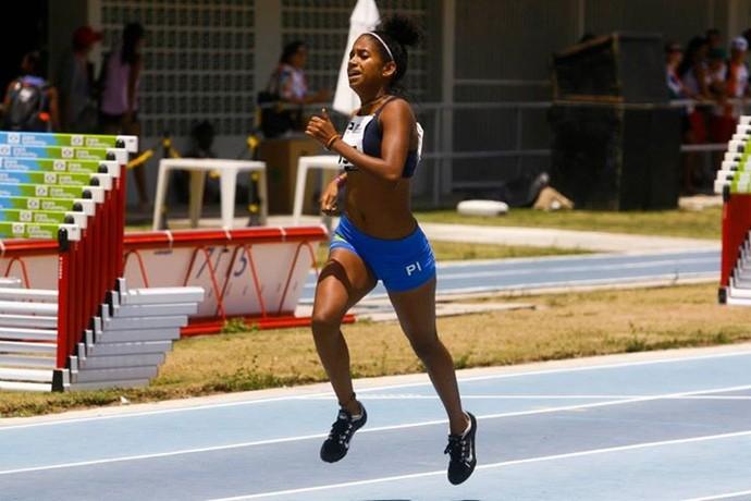 Lia Raquel - Atletismo Piauí (Foto: Wander Roberto/Inovafoto/COB)