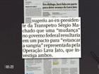 Áudios vazados revelam planos de Romero Jucá para abafar Lava Jato