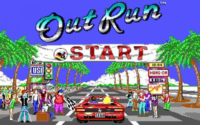 Out Run foi criado por Yu Suzuki (Foto: Divulgação/Sega)
