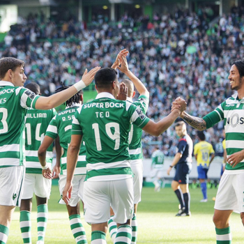 Sporting vence no Português (Foto: Reprodução / Instagram)