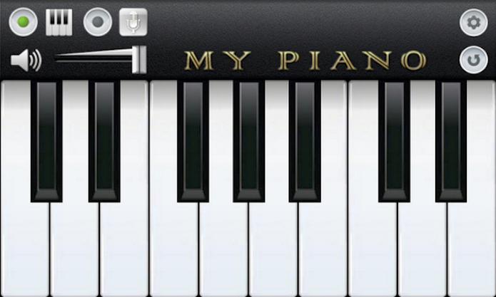 O My Piano é um simulador de pianos com 11 sons que permite a gravação e playback de melodias (Foto: Reprodução/Google Play) (Foto: O My Piano é um simulador de pianos com 11 sons que permite a gravação e playback de melodias (Foto: Reprodução/Google Play))