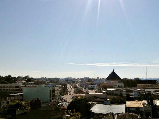 Previsão do tempo acre - Cruzeiro do Sul  (Foto: Jhonatas Fabrício/Arquivo pessoal)