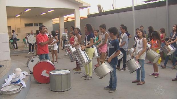 desfile cívico, bandas, macapá, amapá tv, amapá (Foto: Amapá TV)
