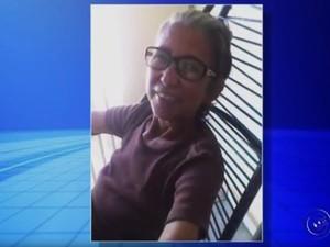 Delice Marques Theodoro morreu após ser atropelada (Foto: Reprodução/TV TEM)