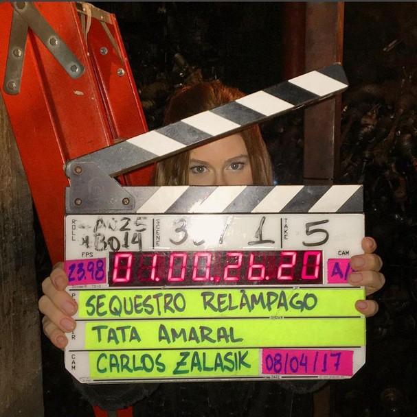 """Marina Ruy Barbosa é a protagonista de """"Sequestro Relâmpago""""  (Foto: Reprodução Instagram)"""