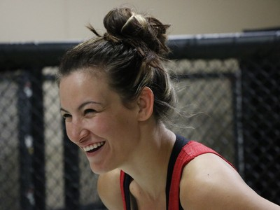 Miesha Tate (Foto: Evelyn Rodrigues)