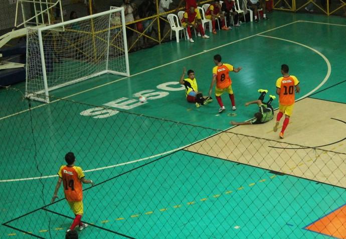 Orocó x Trindade, Copa TV Grande Rio de Futsal (Foto: Amanda Lima)
