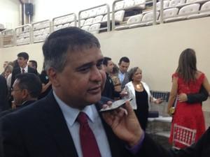 Presidente Moisés Souza deverá lançar chapa na Assembleia (Foto: Abinoan Santiago/G1)