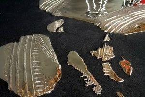 O artista Vanderlei Lopes criou uma obra especialmente para a ocasião, que depois vai para o acervo do Museu de Arte do Rio  (Foto: Divulgação)