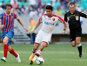 eduardo da silva bahia x flamengo  (Foto: Getty Images)