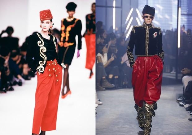 80's vibe (Foto: Reprodução/Vogue.com)