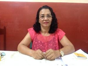 Diretora Lourdes Neres (Foto: Paula Monteiro/G1)