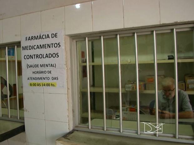 Portadores de deficiência denunciam falta de medicamentos em Imperatriz (Foto: Reprodução/TV Mirante)