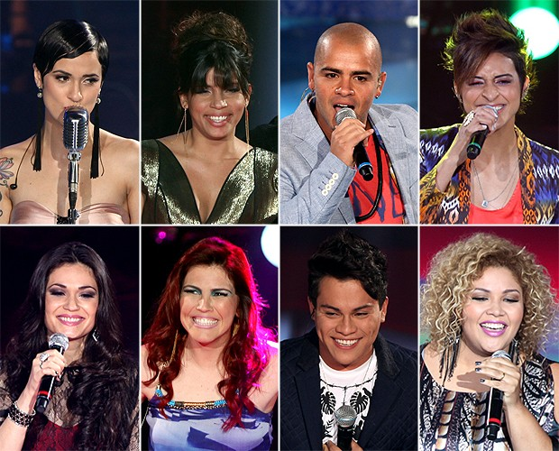 Eliminados (Foto: The Voice Brasil / Tv Globo)