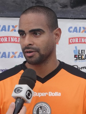 Tiago Cavalcanti, atacante do ASA (Foto: Leonardo Freire/GloboEsporte.com)