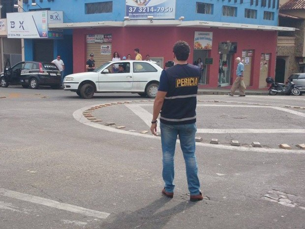 Acidente ocorreu em julho de 2014 e foi reproduzido nesta quarta-feira (4) (Foto: Anna Lúcia Silva/G1)