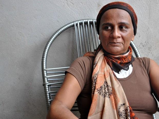 Jucineide comemora o resultado da cirurgia e o retorno da independência (Foto: Desireé Galvão/ G1)
