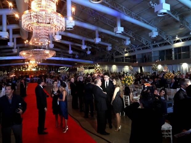 Mais de 3 mil convidados prestigiaram a cerimônia de premiação ORM/ACP (Foto: Ingrid Bico/G1)