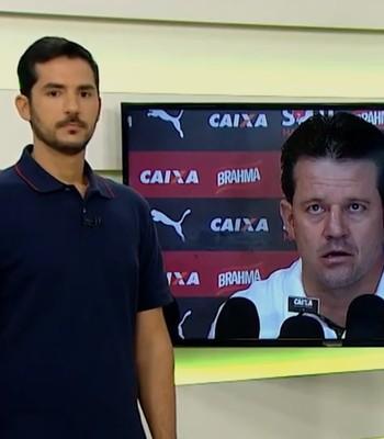 Gustavo Castellucci avalia derrota do Vitória (Foto: Reprodução / TV Bahia)