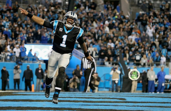 NFL Cam Newton Carolina Panthers x Tampa Bay Buccaneers (Foto: Streeter Lecka / Getty Images)