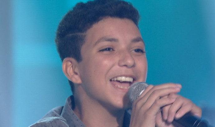 Wagner Barreto Show ao Vivo The Voice Kids (Foto: Reprodução / The Voice Kids)