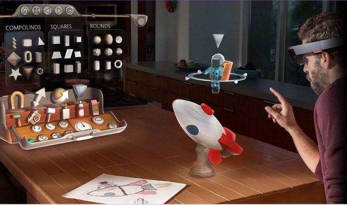 Holo Studio é uma das novas ferramentas que farão uso da holografia (Foto: Divulgação/Microsoft)