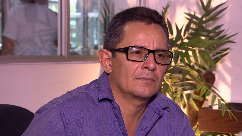 Hamilton Villar é suspeito de integrar quadrilha que desviava dinheiro da prefeitura do Careiro (Foto: Reprodução/RedeAmazônica)
