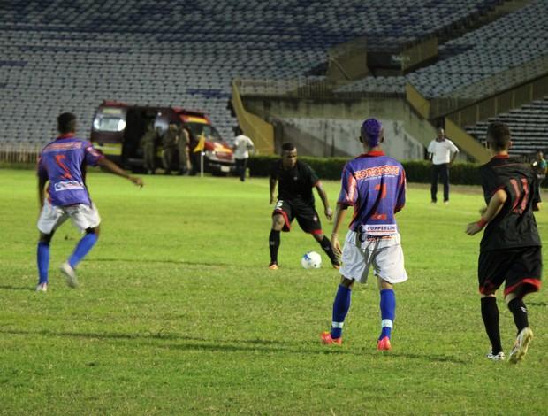 Piauí x Moto Club - Copa do Nordeste 2015 (Foto: Emanuele Madeira/GloboEsporte.com)