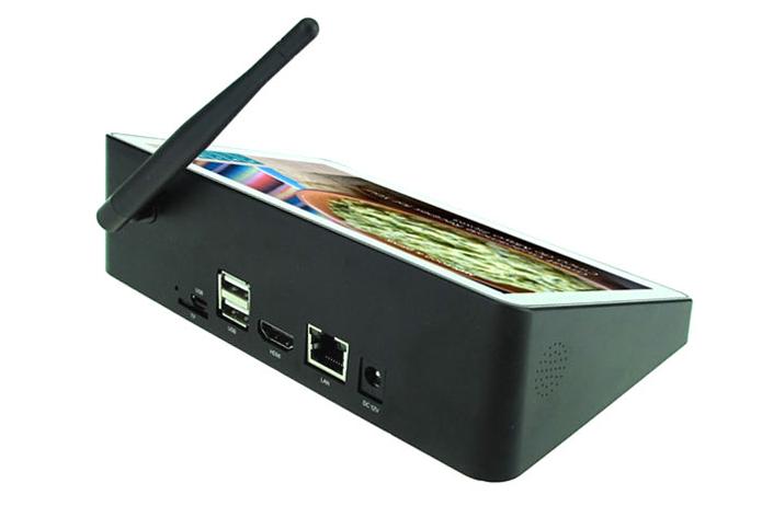 Sem bateria, Pipo X9 não pode ser carregado por todos os lados, como um tablet (Foto: Divulgação/Pipo)