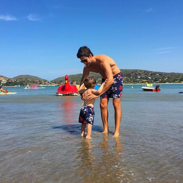 Luma Costa abre álbum de fotos de viagem a Búzios com a família (Foto: Reprodução / Instagram)