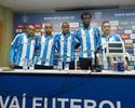 Quase meio time: Avaí apresenta cinco reforços para competições nacionais
