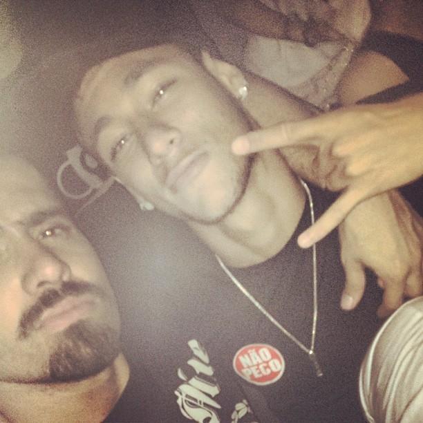 Yuri e Neymar (Foto: Reprodução/ Instagram)