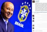 BLOG: Alex pede para Del Nero mudar o nome da sede da CBF, no Rio de Janeiro