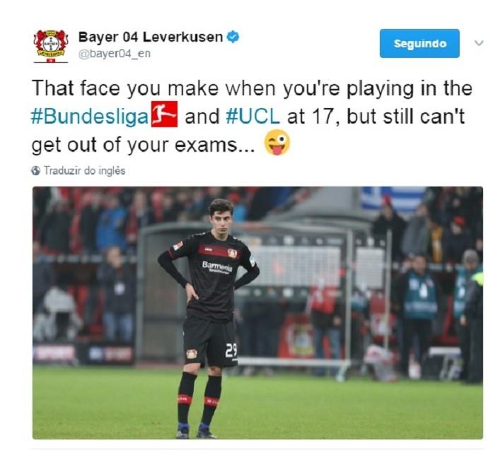 Havertz Bayer Leverkusen