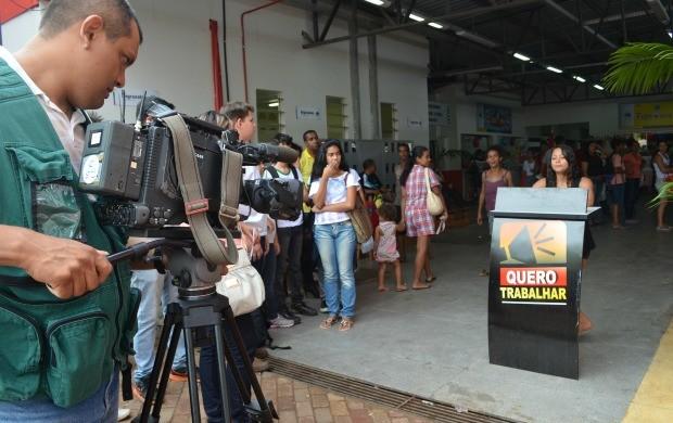 O novo quadro divulga currículos digitais no Bom Dia Amazônia (Foto: Tácita Muniz)