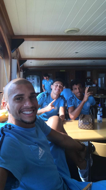 BLOG: Olympique de Marselha viaja de barco para amistoso contra o Sporting
