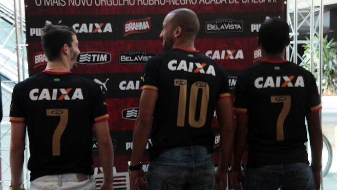 Terceiro uniforme do Vitória (Foto: Divulgação/EC Vitória)