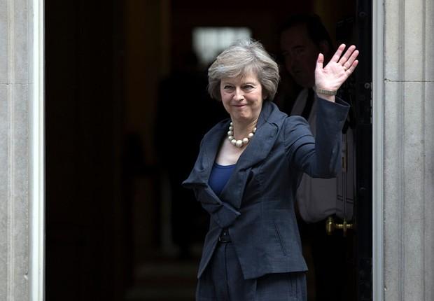 Theresa May faz última reunião com David Cameron como primeiro-ministro (Foto: Carl Court/Getty Images)