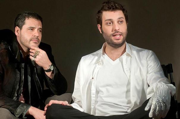 Bruno Garcia e Pedro Henrique Monteiro em 'Machiel & Eu' (Foto: Dalton Valério)