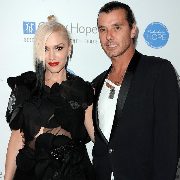 A poderosa vocalista do No Doubt, Gwen Stefani, é casada com o vocalista da banda Bush, Gavin Rossdale, desde 2002. (Foto: Getty Images)