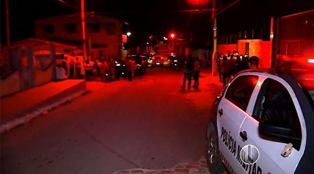 Dona de casa é morta a marretadas em Macaíba, RN; pedreiro é suspeito  (Foto: Reprodução/Inter TV Cabugi)