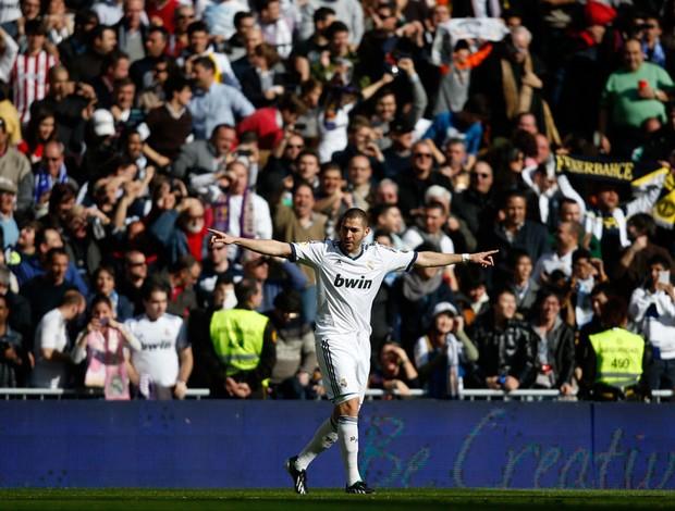 benzema real madrid gol barcelona (Foto: Agência Reuters)