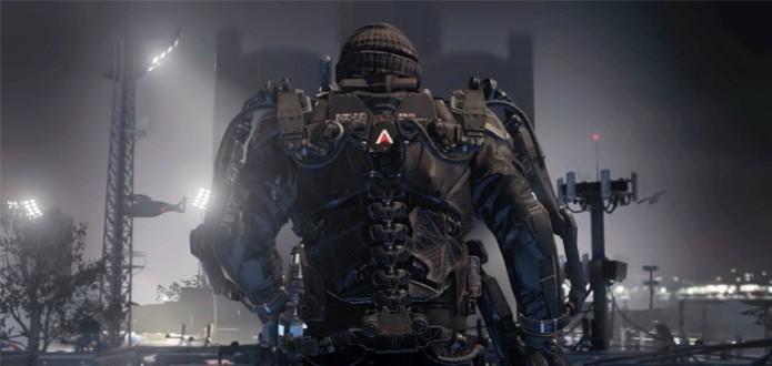 Um dos exoesqueletos presentes em Call of Duty: Advanced Warfare  (Foto: Reprodução/Destructoid)