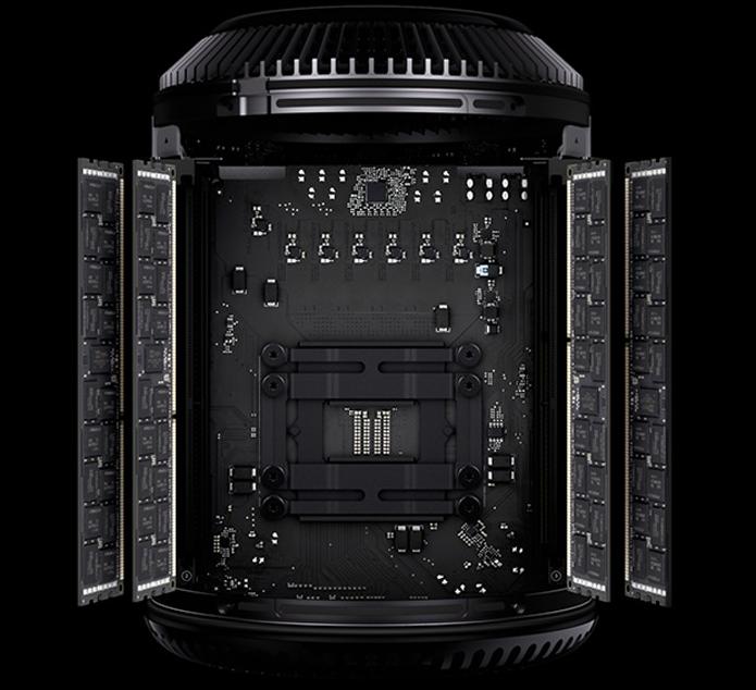 Mac Pro tem hardware bastante superior, mas é mais restritivo quanto ao armazenamento (Foto: Divulgação/Apple)