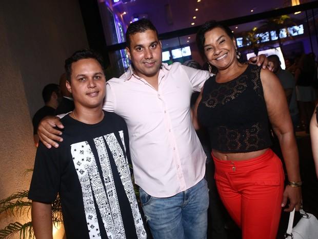 Solange Couto e Jamerson Andrade em evento na Zona Oeste do Rio (Foto: Raphael Mesquita/ Divulgação)