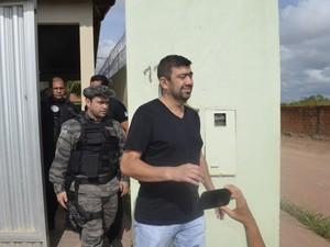 Luciano Marba era sócio da vítima na empresa LMS segurança (Foto: Dyepeson Martins/G1)
